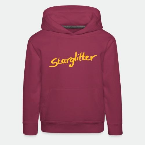 Starglitter - Lettering - Kids' Premium Hoodie