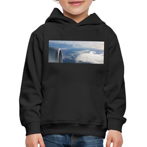 Flugzeug Himmel Wolken Australien - Kinder Premium Hoodie