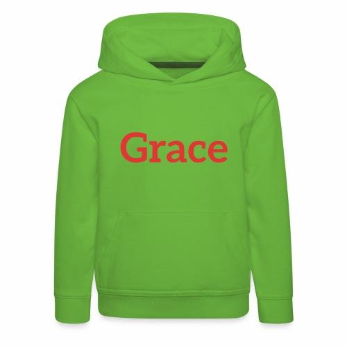 grace - Kids' Premium Hoodie