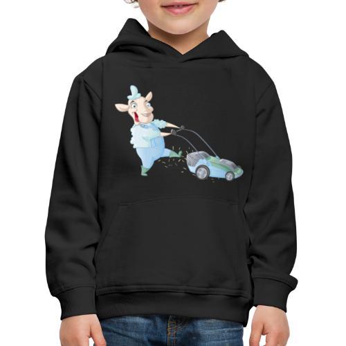 Der Rasen-MÄHER - Kinder Premium Hoodie