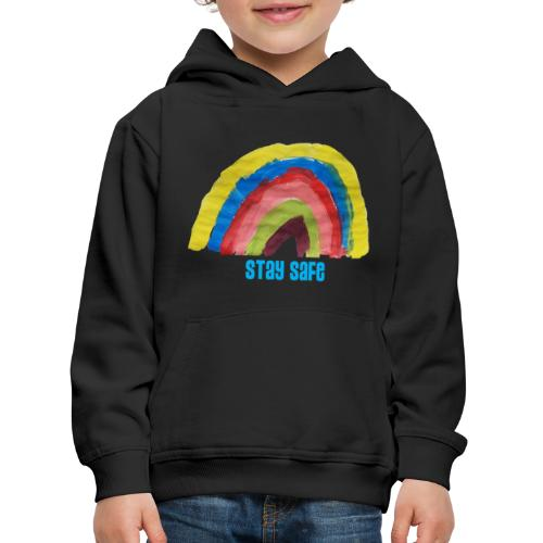Stay Safe Rainbow Tshirt - Kids' Premium Hoodie