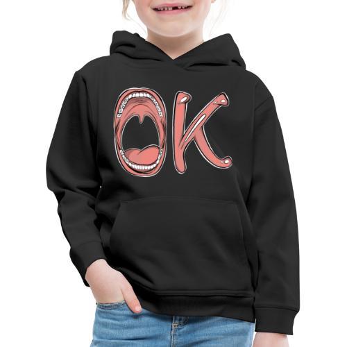 OK - Pull à capuche Premium Enfant