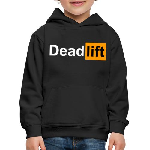 DeadLift X - Pull à capuche Premium Enfant