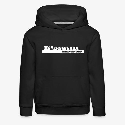 Logo Hoierswerda transparent - Kinder Premium Hoodie