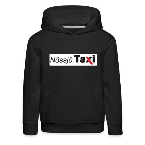 Nässjö taxi tryck - Premium-Luvtröja barn