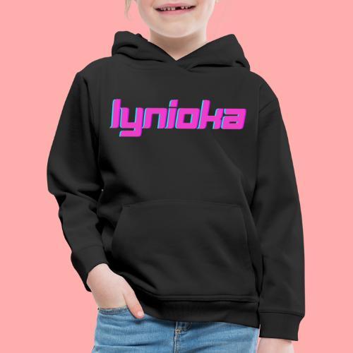 Lynioka Logo 2 - Pull à capuche Premium Enfant