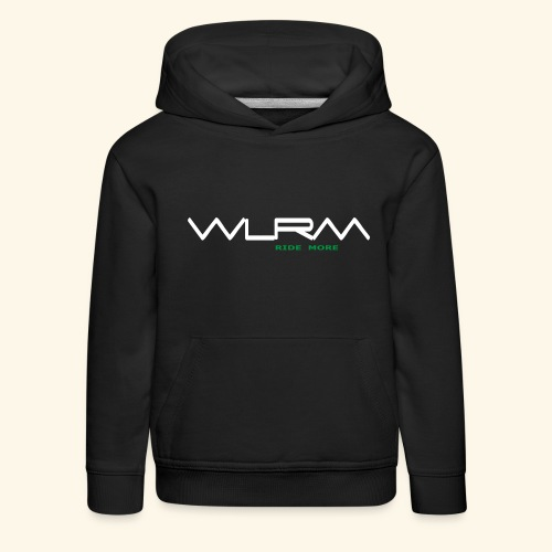 WLRM Schriftzug white png - Kinder Premium Hoodie