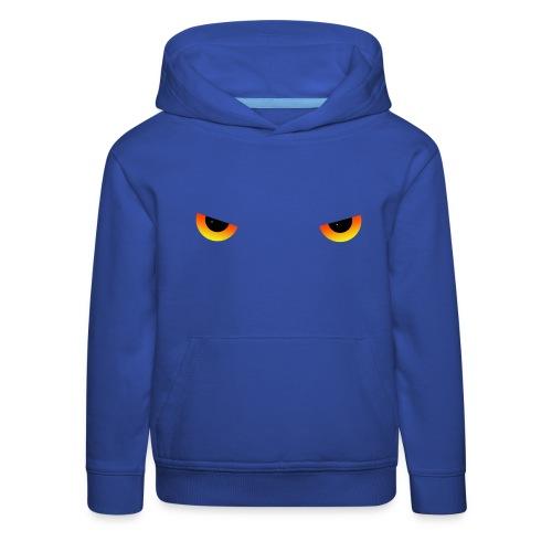Augen feurig - Kinder Premium Hoodie