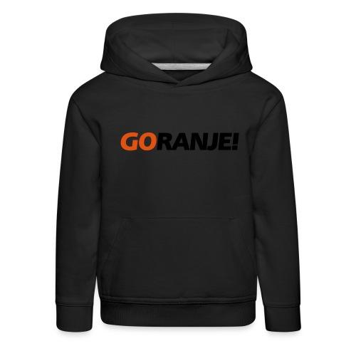 Go Ranje - Goranje - 2 kleuren - Kinderen trui Premium met capuchon