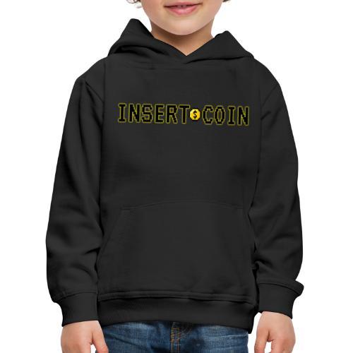 Insert Coin - Felpa con cappuccio Premium per bambini