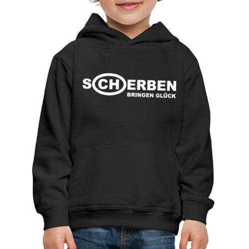 Scherben bringen Glück - Kinder Premium Hoodie