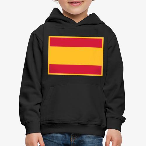Banderola española - Sudadera con capucha premium niño