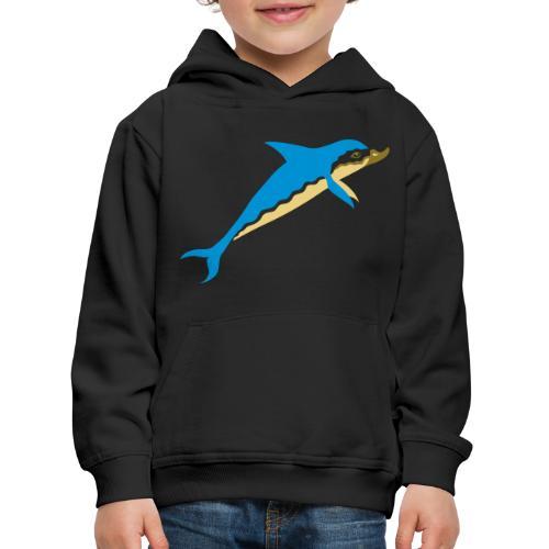 Dauphin - Pull à capuche Premium Enfant