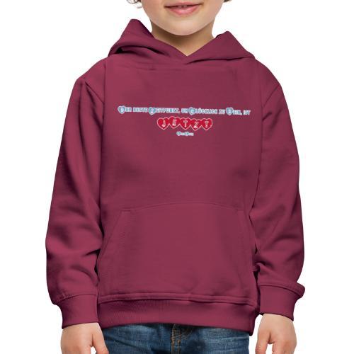 Sei glücklich! JETZT! - Kinder Premium Hoodie