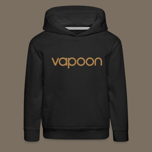 Vapoon Logo simpel 01 - Kinder Premium Hoodie