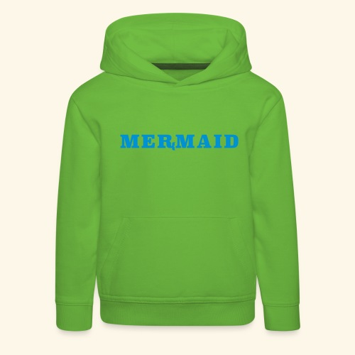 Mermaid logo - Premium-Luvtröja barn