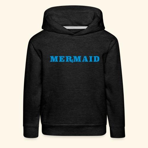 Mermaid logo - Premium-Luvtröja barn