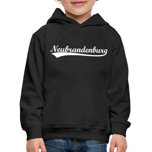 Neubrandenburg Weiß - Kinder Premium Hoodie