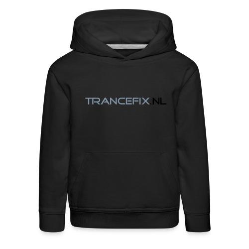 trancefix text - Kids' Premium Hoodie