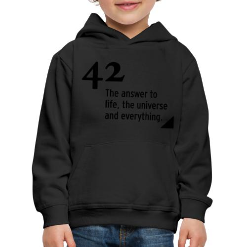 42 - the answer - Kinder Premium Hoodie
