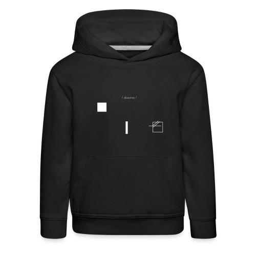 /obeserve/ sweater (M) - Premium Barne-hettegenser
