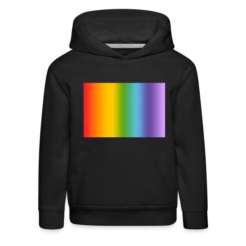 Hintergrund Regenbogen soft - Kinder Premium Hoodie
