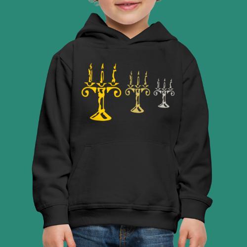 edles Kerzenlicht - Kinder Premium Hoodie
