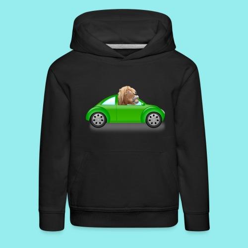 Poney voiture - Pull à capuche Premium Enfant