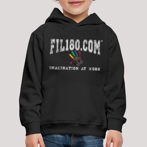 FIL180 Hoody WHITE - Kids' Premium Hoodie