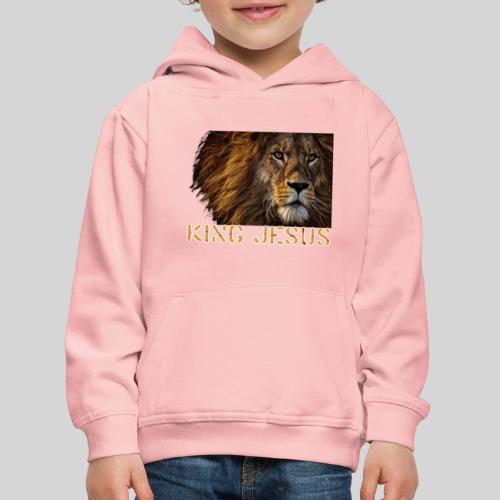 König Jesus der Löwe von Juda - Kinder Premium Hoodie