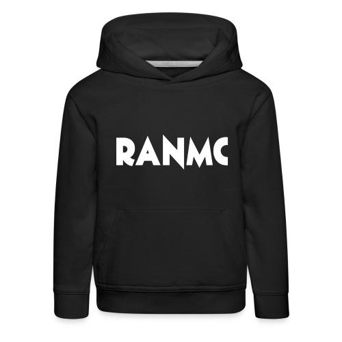 RANMC WIT png - Kinderen trui Premium met capuchon