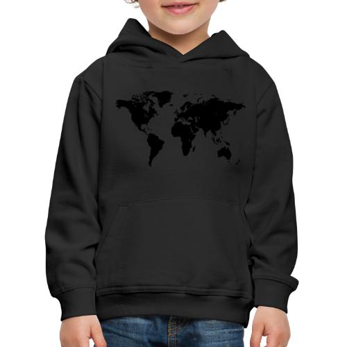 World Map - Kinder Premium Hoodie