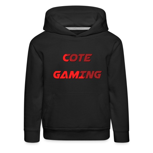 Cote Sweater Rode Letters - Kids' Premium Hoodie
