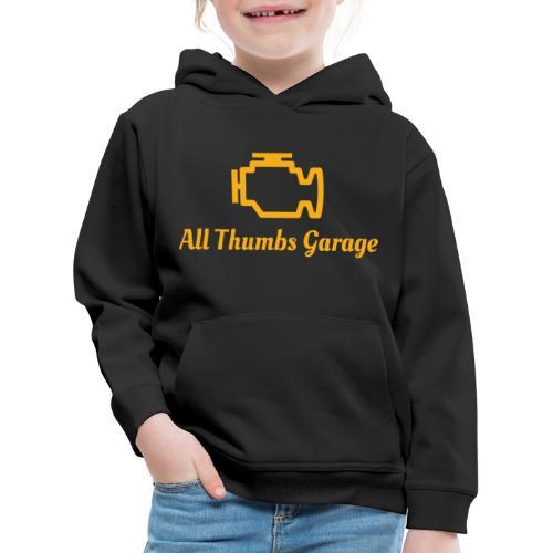 ATG logo + text - Kids' Premium Hoodie