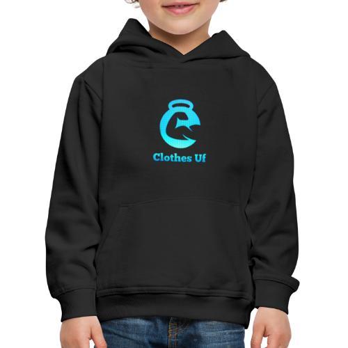 Clothes Uf - Premium-Luvtröja barn