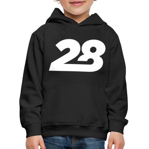 28 White - Kids' Premium Hoodie