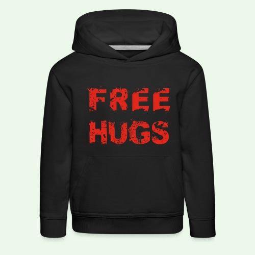 Free Hugs // Flirten // T-Shirt - Kinder Premium Hoodie