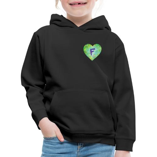 F follows fabulous family fun facts furiously - Kids' Premium Hoodie