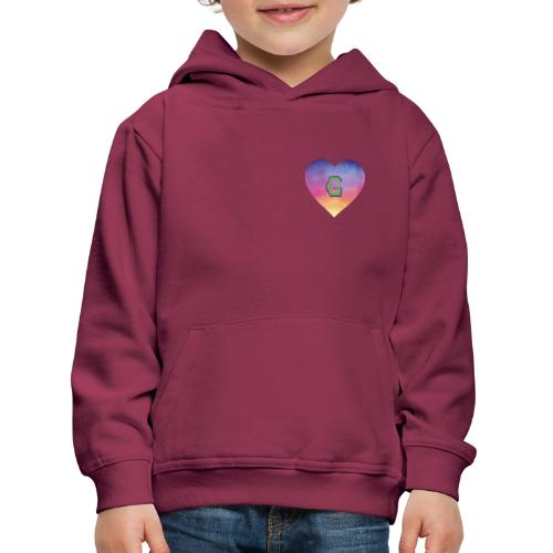 Gee, that's a great Letter G - Kids' Premium Hoodie