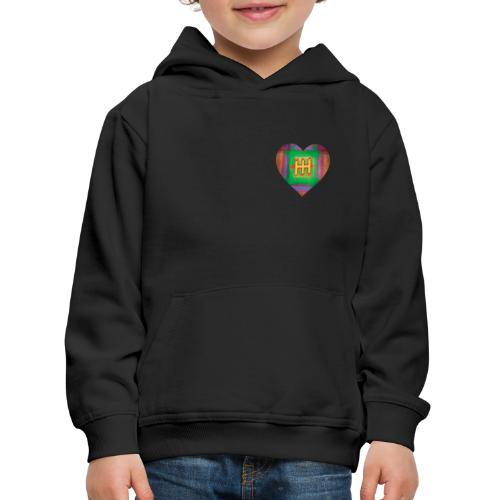 HH with a Heart - Kids' Premium Hoodie