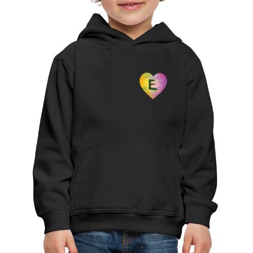 Extra E Name Design - Kids' Premium Hoodie