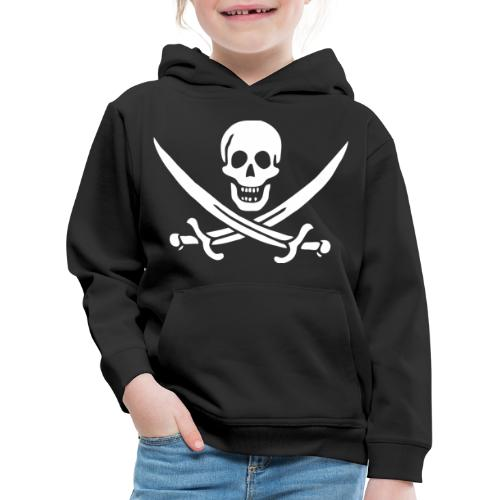 Jack Rackham Flag - Pull à capuche Premium Enfant