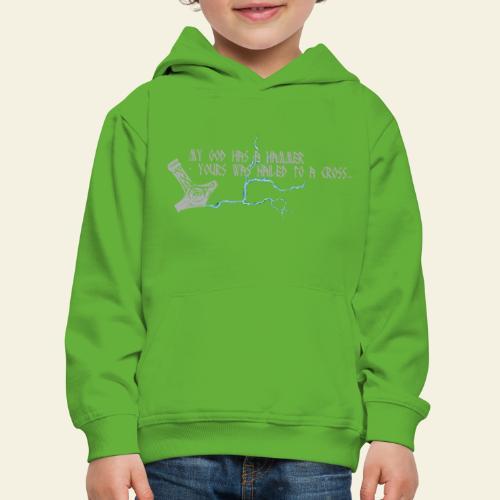mjlner - Premium hættetrøje til børn