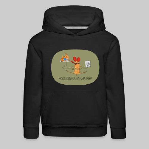 VJocys Internet - Kids' Premium Hoodie
