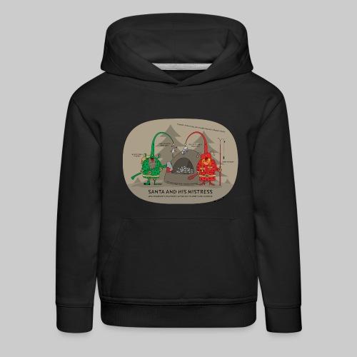 VJocys Santa Green - Kids' Premium Hoodie