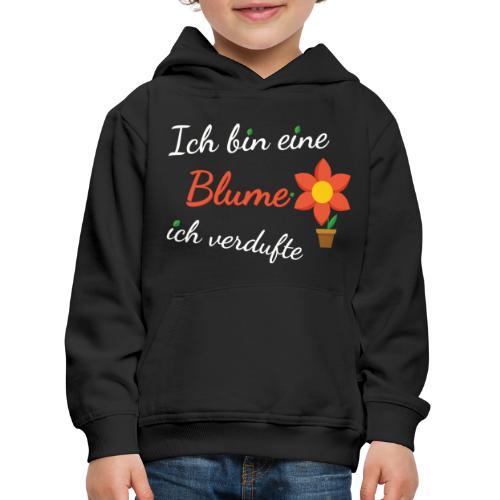 Blume Garten Gärtner Florist Shirt Geschenk - Kinder Premium Hoodie