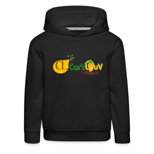 CarVlouV - Sudadera con capucha premium niño