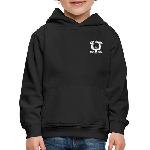 Defiance Krav Maga Logos - Kids' Premium Hoodie
