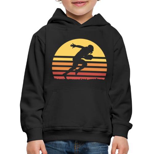 Football Sunset - Kinder Premium Hoodie