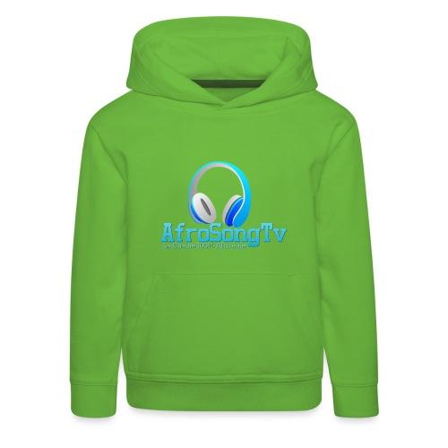 logo - Sudadera con capucha premium niño